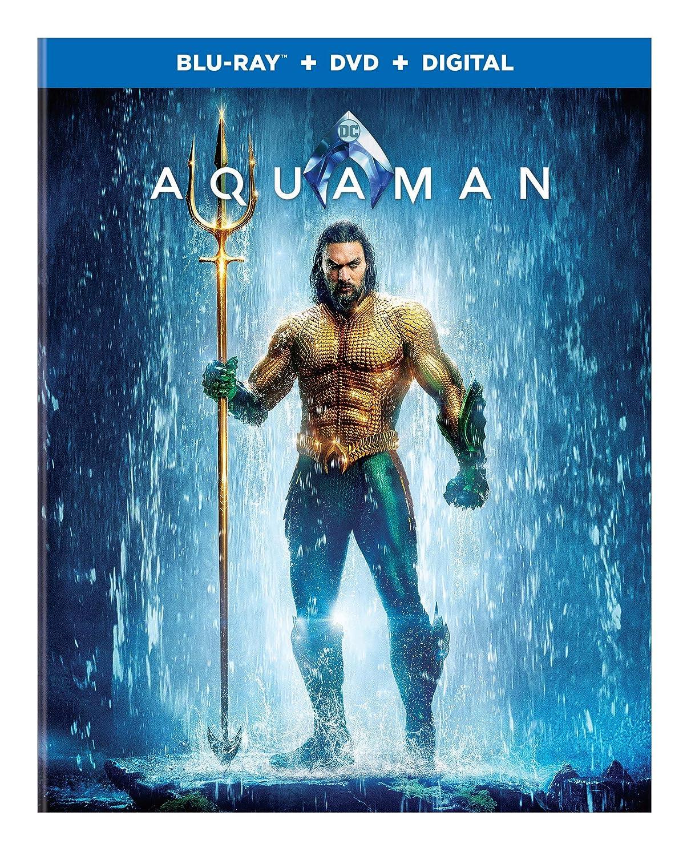 Amazon Com Aquaman  Bd Blu Ray Jason Momoa Nicole Kidman James Wan Movies Tv