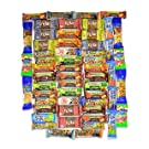 Healthy Snacks and Bars Variety Pack Gift Snack Box - Bulk Sampler (Care Package 56 Count)