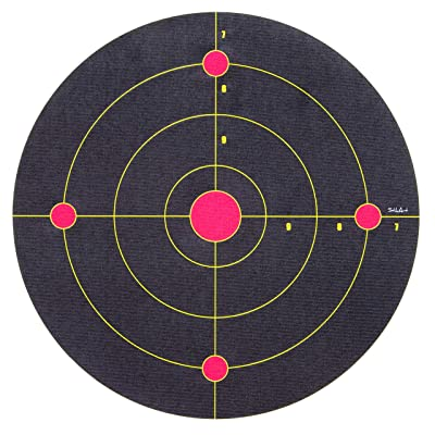 StikArt Shooting Target Wall Decal for Indoor Practice with Nerf Guns & Foam Blasters (Range Style): Home & Kitchen