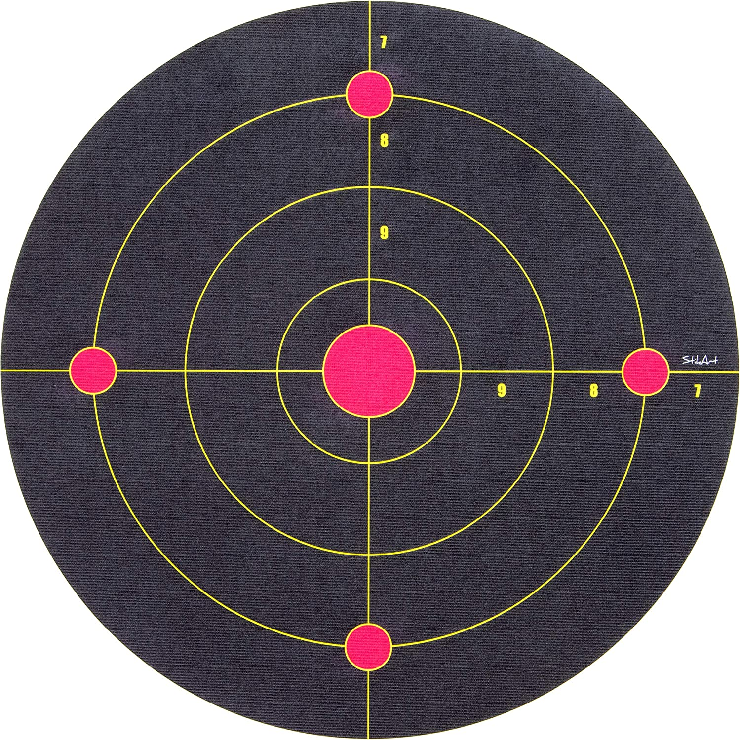 StikArt Shooting Target Wall Decal for Indoor Practice with Nerf Guns & Foam Blasters (Range Style)