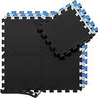 Beschermende Vloermatten Zachte Foam Tegels in Elkaar Grijpende Schuimmatten - 18 Stuks EVA Schuim Puzzelmatten…
