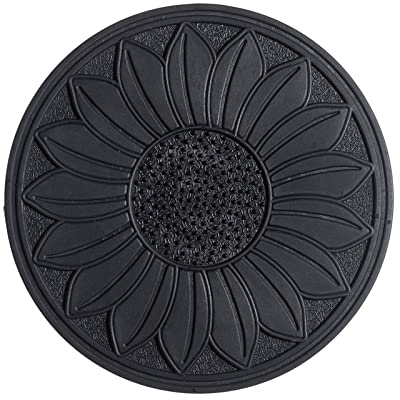 HF by LT Rubber Sunflower Garden Stepping Stone