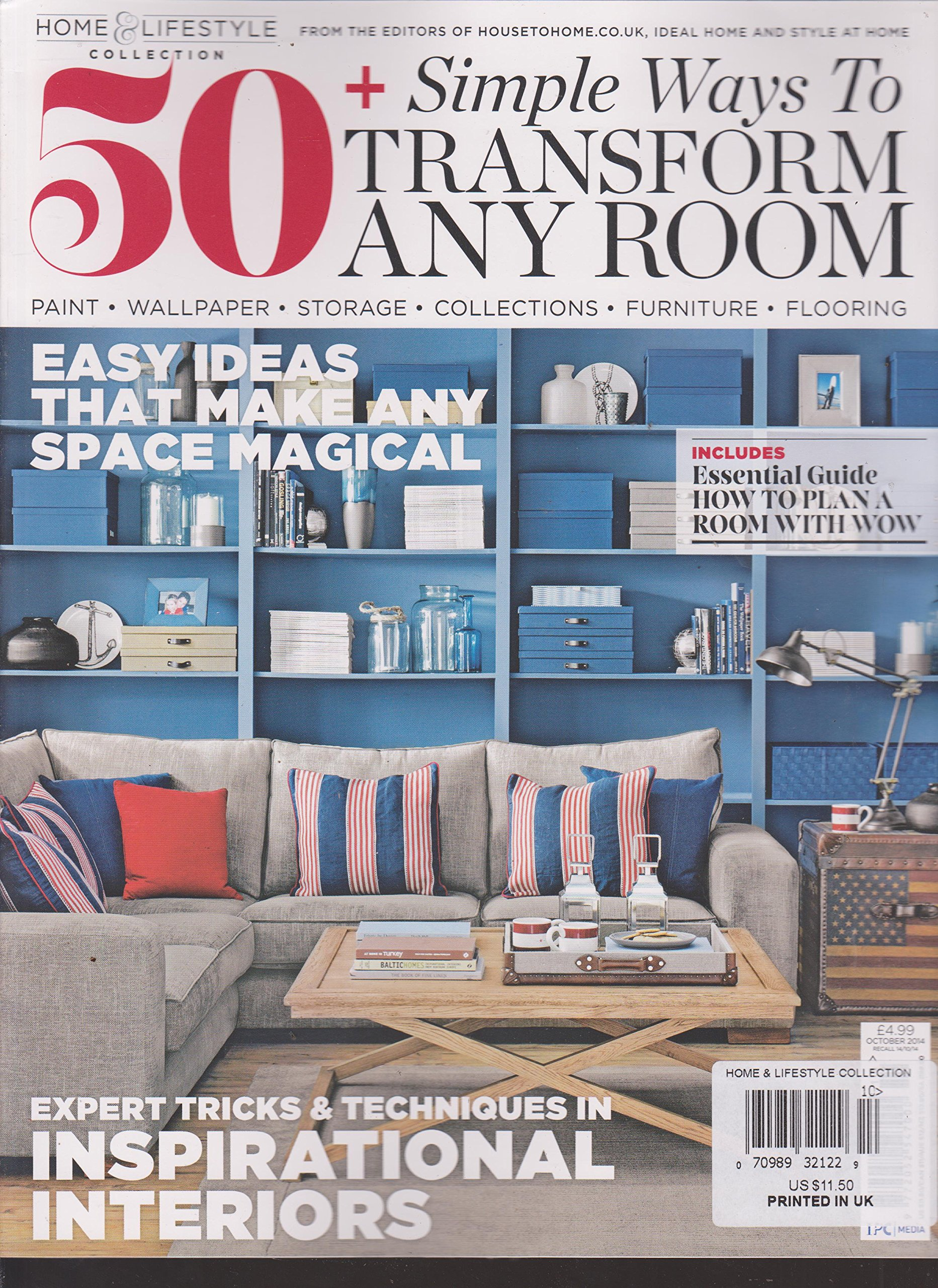Download Home & Lifestyle Collection 50+ Simple Ways to Transform Any Room Magazine ebook