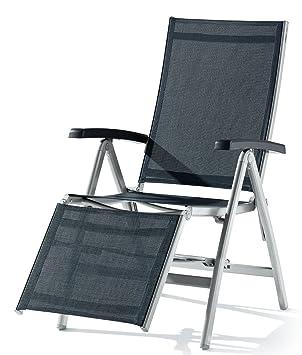 Sieger 985/A G Relaxliege Bodega, Aluminium, Vollkunststoff Und  Textilux Gewebe, Graphit
