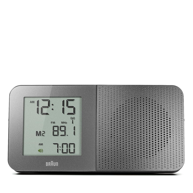 Braun Radio Funkwecker Digital Digital Digital grau BNC010GY-RC e90433