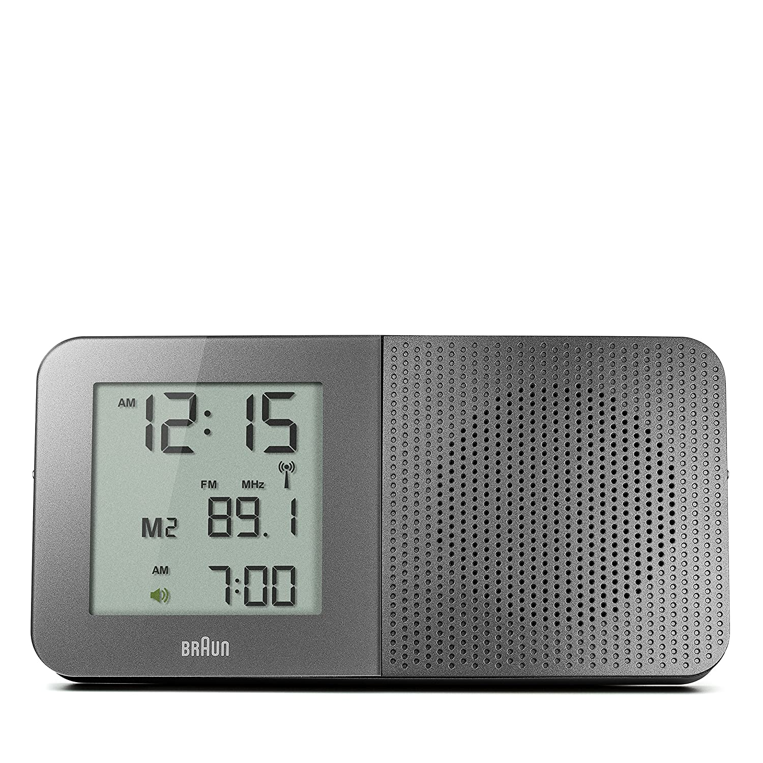 Braun BNC010GY-Radio reloj despertador digital: Amazon.es: Relojes