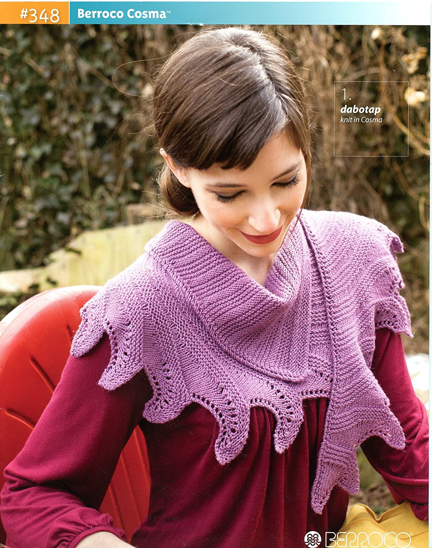 Amazon.com: Berroco Cosma - Knitting Pattern Book #348: Arts, Crafts ...