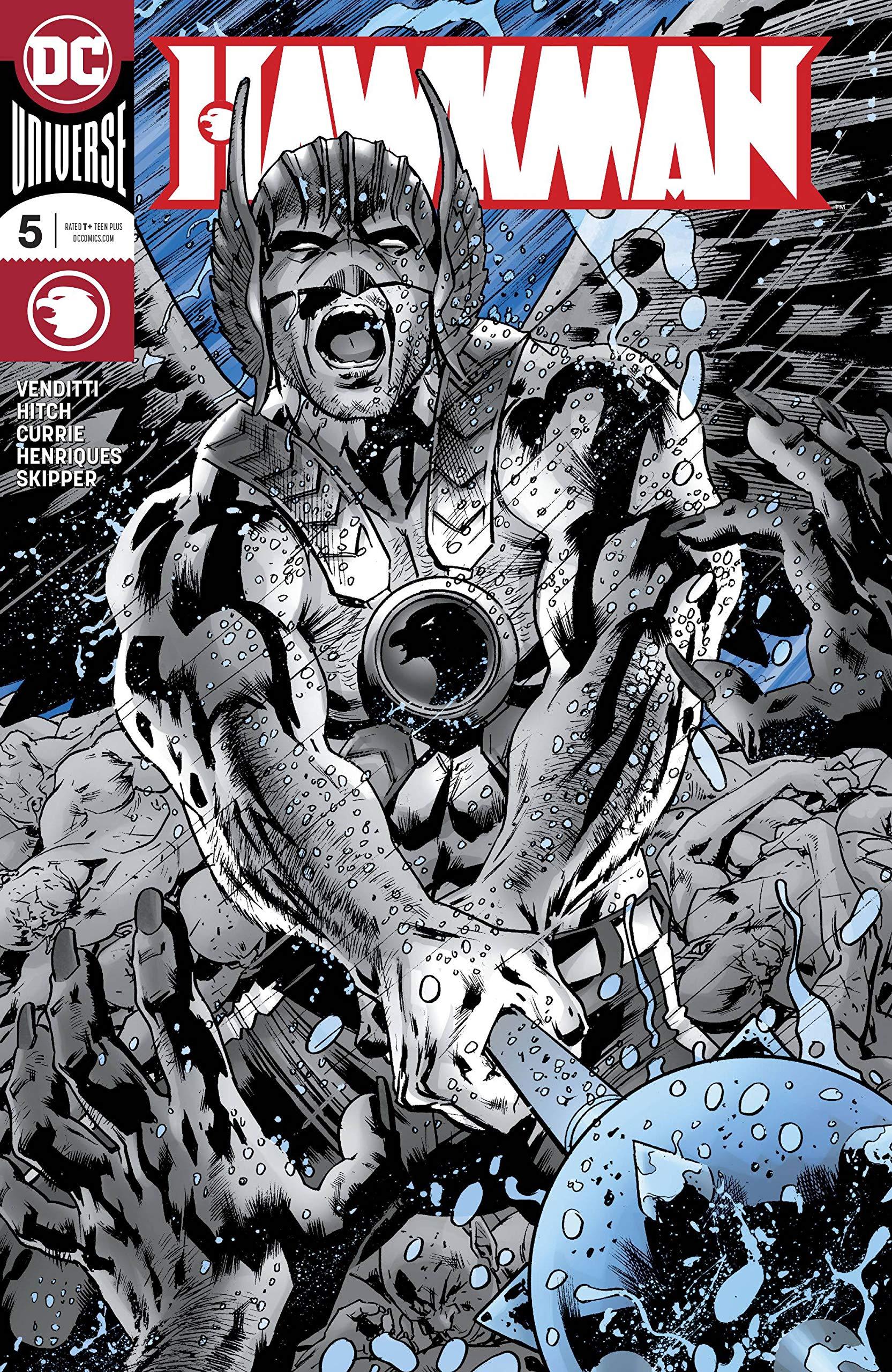 Hawkman #5 Foil