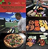 "Backyard Chef Bake and Grill Master Grill Mat Baking Mat FDA Approved Heavy Duty Non Stick Premium BBQ Grill Mats Set of 2 - 16""x13"" - Great Gift Ideas for men - Best Grill Accessories"