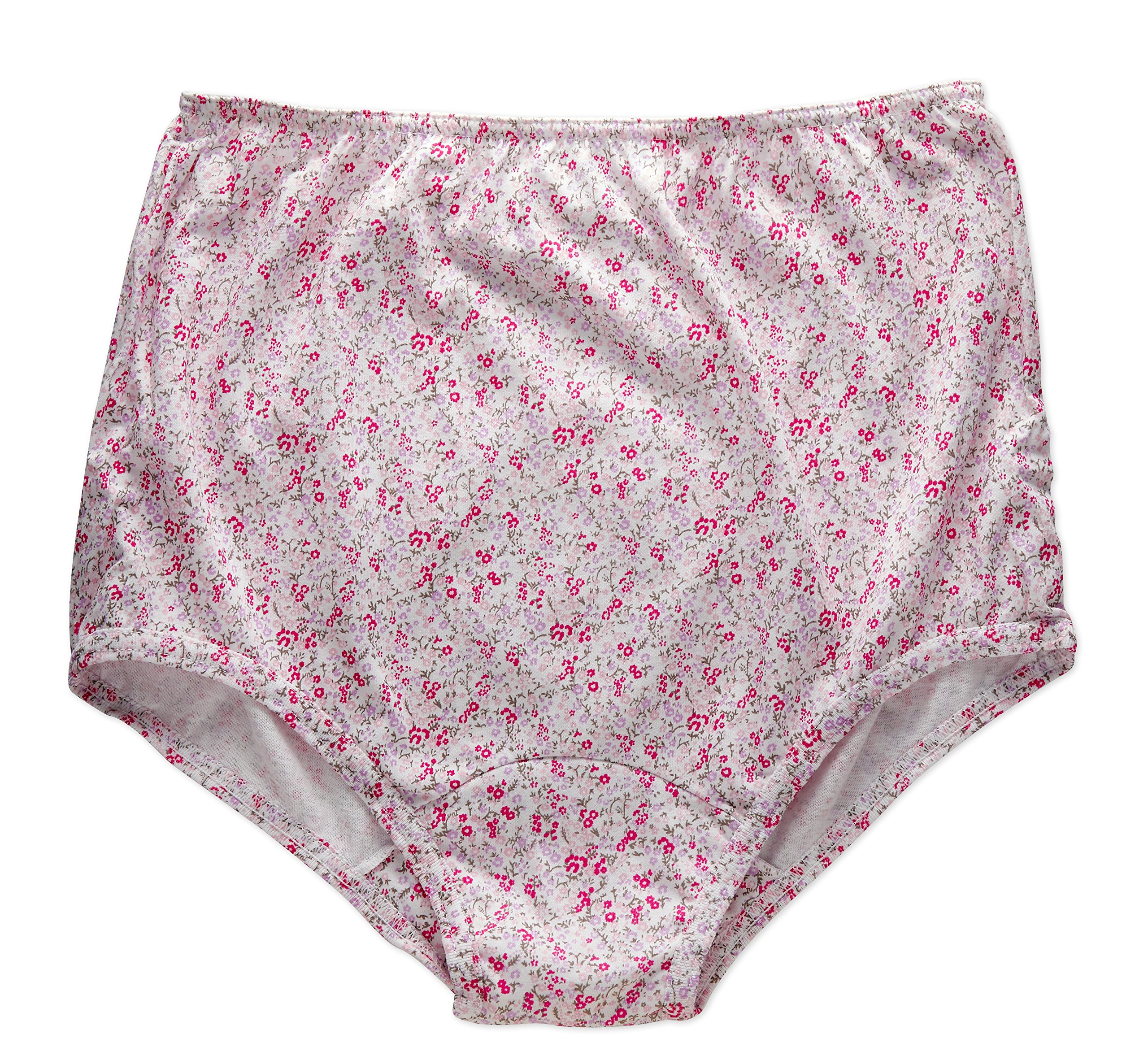 a667a1b5ea48 Galleon - Rossette Women's Classic Full Coverage Brief Panties, Value 3-Pack,  6, Spring