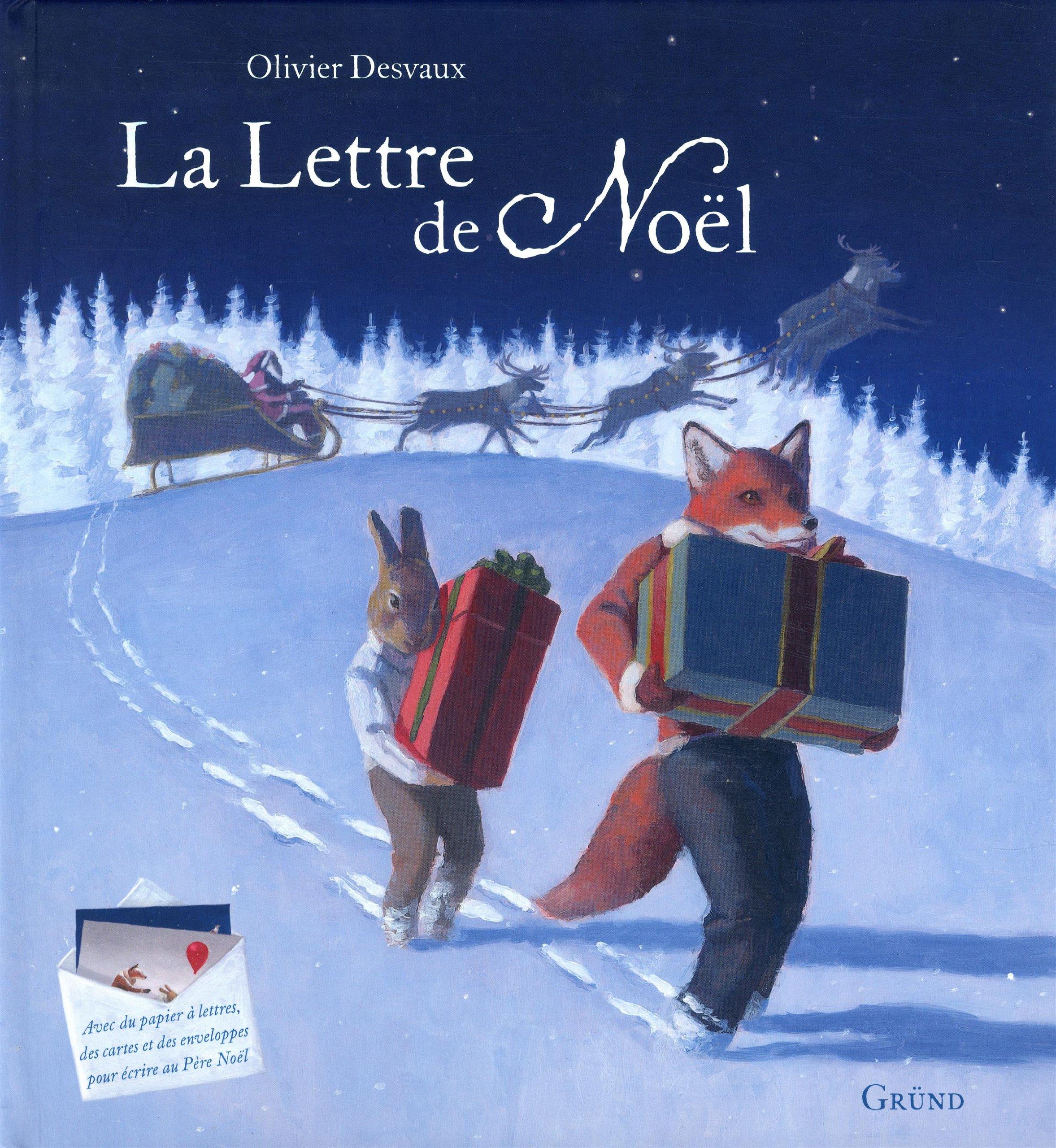 Image De Lettre De Noel.La Lettre De Noel Amazon Ca Olivier Desvaux Books