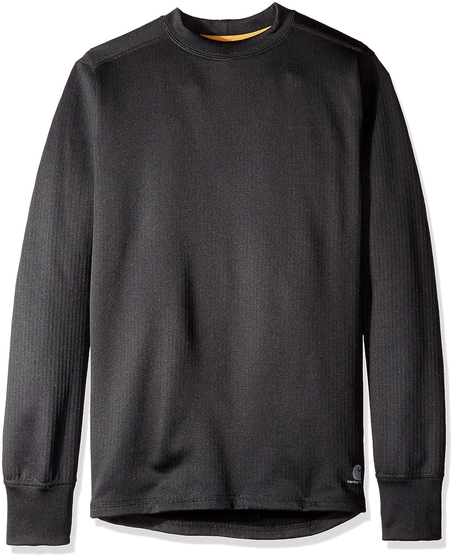 Carhartt Men 's Base Force Extremes Super Cold Weatherクルーネックスウェットシャツ B01C3I79LY M|ブラック ブラック M
