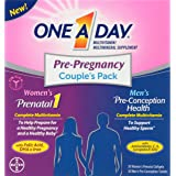 One A Day Pre-Pregnancy Couple's Pack Multivitamin