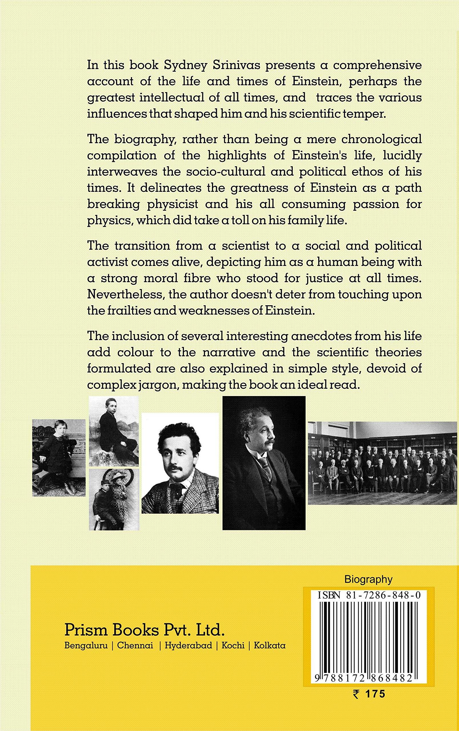 Amazon in: Buy Albert Einstein Book Online at Low Prices in