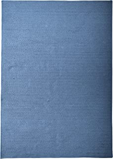 product image for Colonial Mills Sunbrella Solid Area Rug 6x9 Cornflower