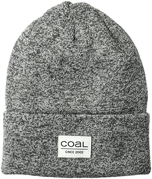 bae71c7c7ca Coal Men s The Standard Classic Cuffed Fine Knit Beanie Hat