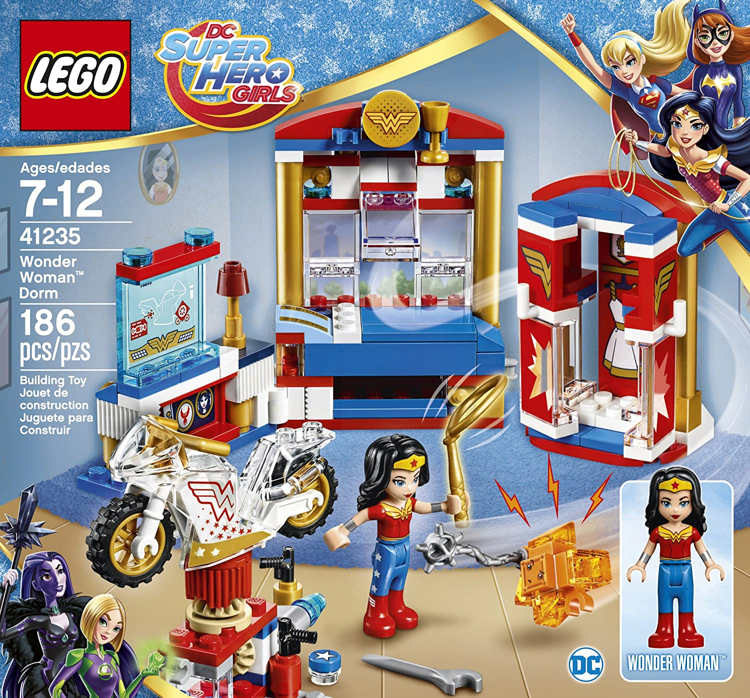 Amazon LEGO DC Super Hero Girls Wonder Woman Dorm DC