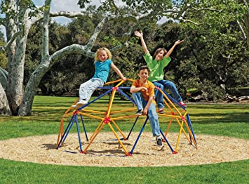 Easy Outdoor Space Dome Climber U2013 Rust And UV Resistant Steel U2013 1000lb.  Capacity U2013