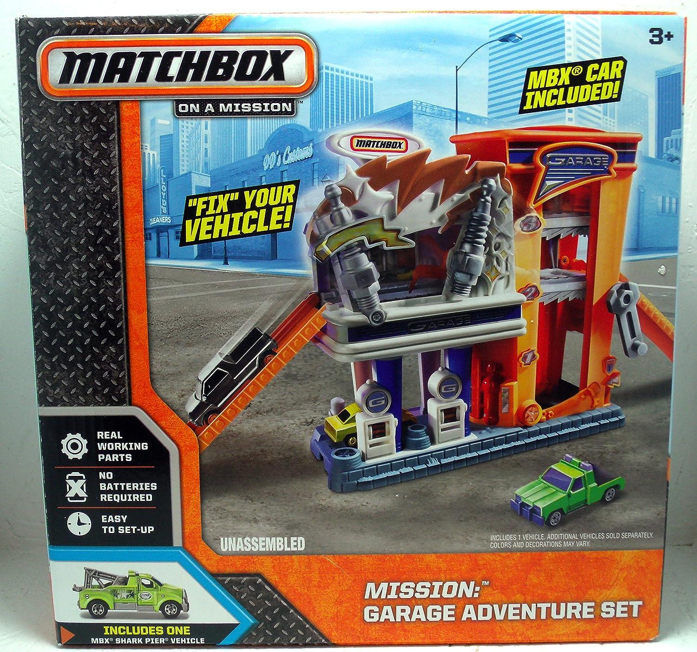 Matchbox On A Mission: Garage Adventure Set by Matchbox on a mission
