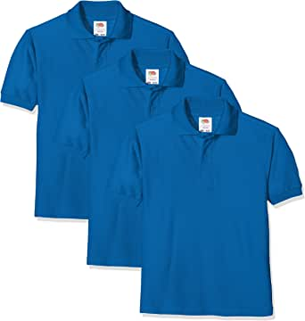 Fruit of the Loom, Polo para Niños (Pack de 3)