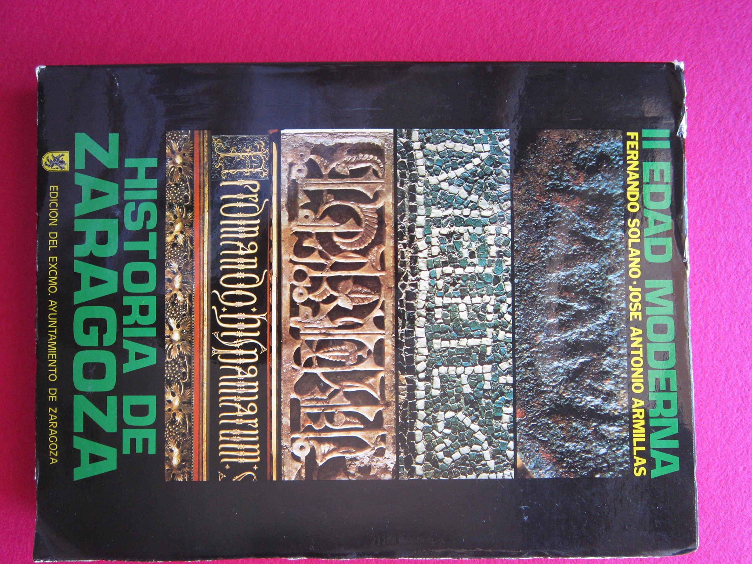 Historia de Zaragoza (Spanish Edition): 9788450013511 ...