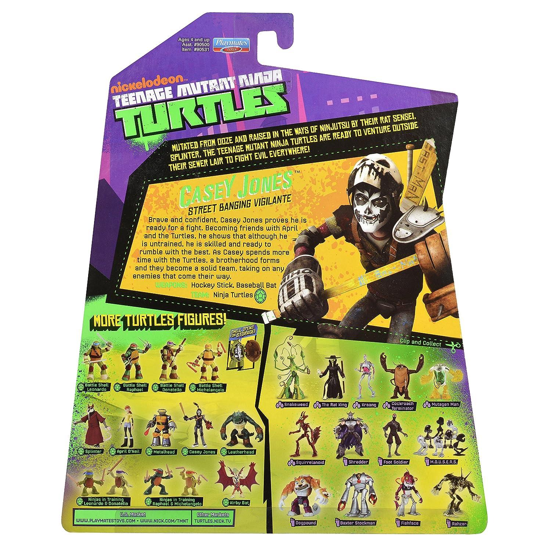 Figura Nickelodeon Teenage Mutant Ninja Turtles Casey Jones ...