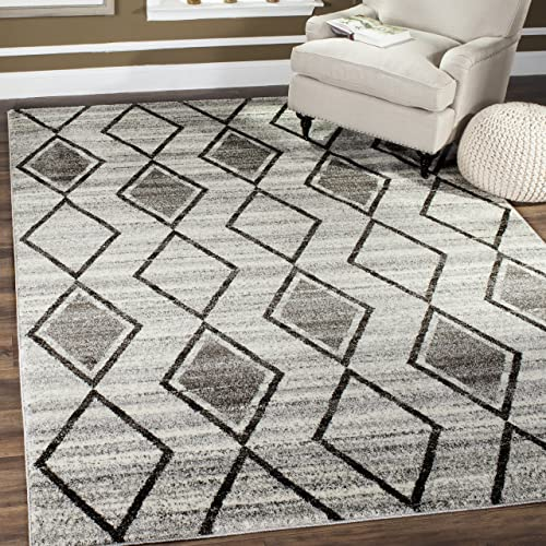 Safavieh Tunisia Collection and Black Area Rug