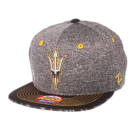 finest selection b4409 cb01e Amazon.com   Zephyr NCAA Arizona State Sun Devils Children Boys Prodigy  Youth Snapback Hat, Youth Adjustable, Gray Team Color   Clothing