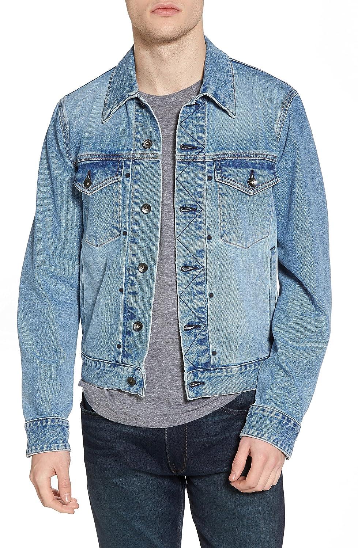 ラグアンドボーン メンズ ジャケットブルゾン rag & bone Jean Jacket [並行輸入品] B07BMQX1X5 Medium