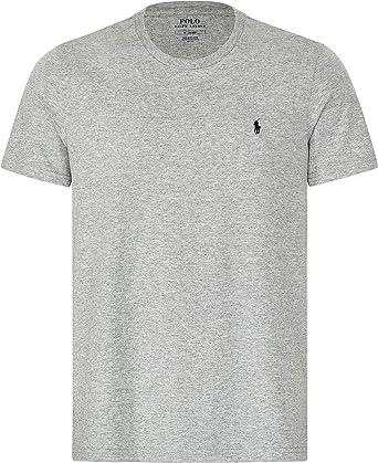 RLU/_714706745003 Polo Ralph Lauren T-Shirt in Cotone Grigio