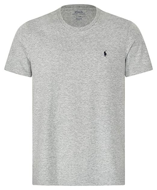 the best attitude be3dd 83a9b Polo Ralph Lauren | T-Shirt in Cotone Grigio | RLU_714706745003
