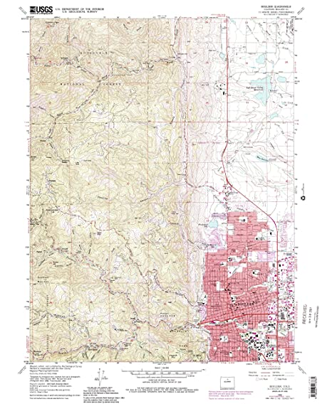 Amazon Com Yellowmaps Boulder Co Topo Map 1 24000 Scale 7 5 X