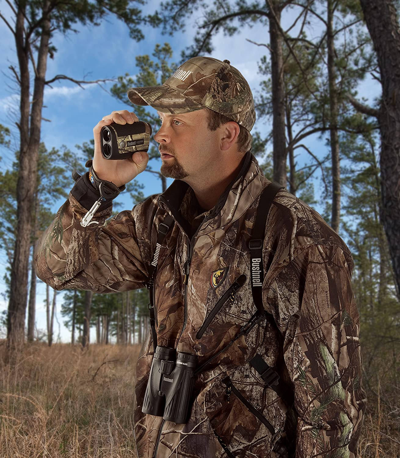 Bushnell Legend 1200 ARC Bow and Rifle Modes Laser Rangefinder, Realtree AP Camo