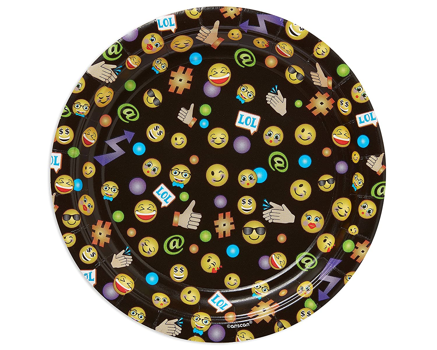 American Greetings LOL Emojis Party Supplies Paper Lunch Napkins 16-Count