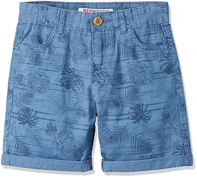 0a086d6561c60a RED WAGON Bermuda Bambino con Stampa Tropicale, Blu (Blue), 110 (Taglia  Produttore: 5 Anni): Amazon.it: Abbigliamento