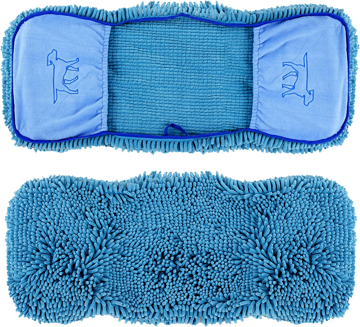 Tuff Pupper Large Chenille Microfiber Dog Drying Towel