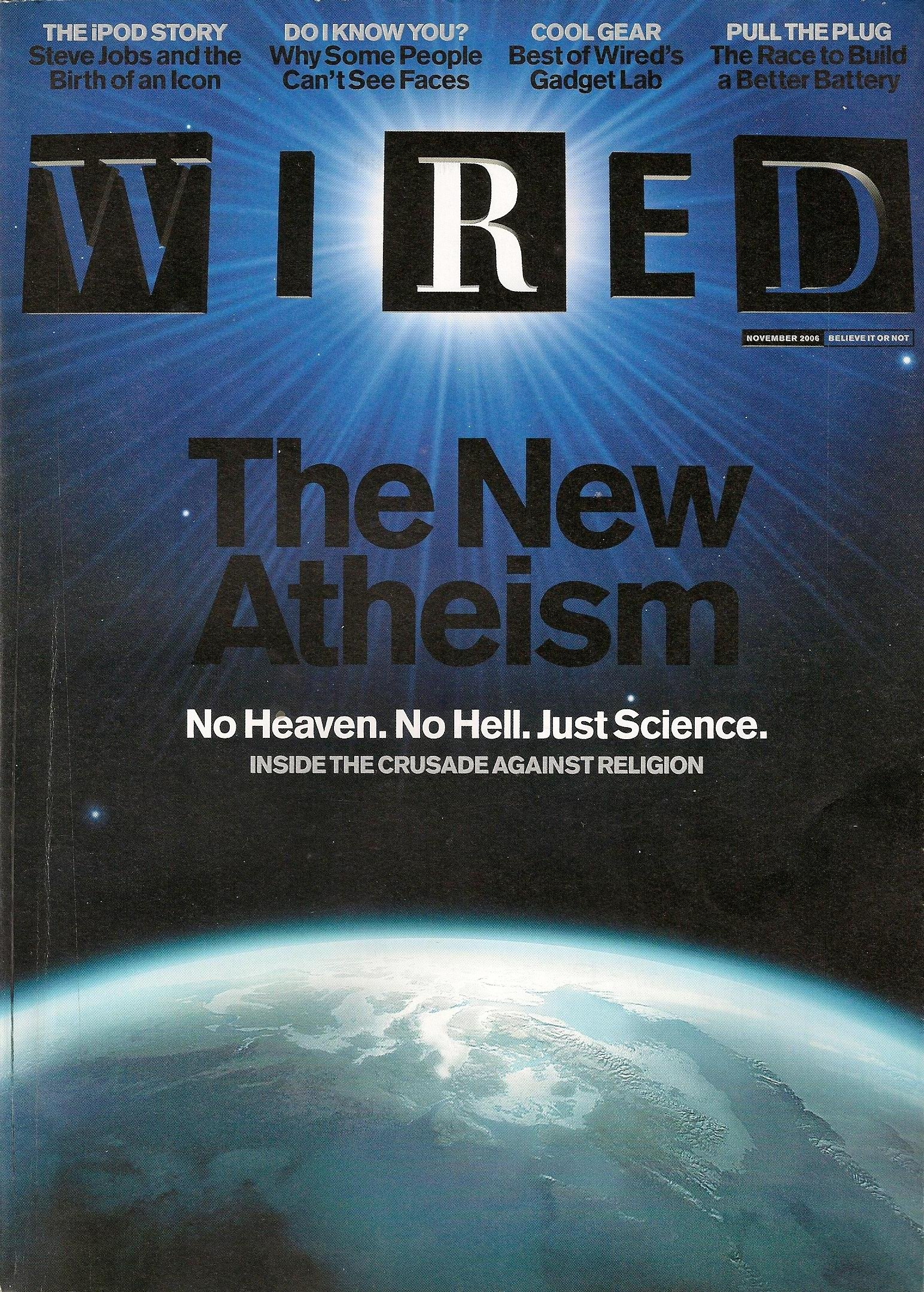 Wired Magazine November 2006 (Back Issue) (14:11): Steven Levy, Clay ...
