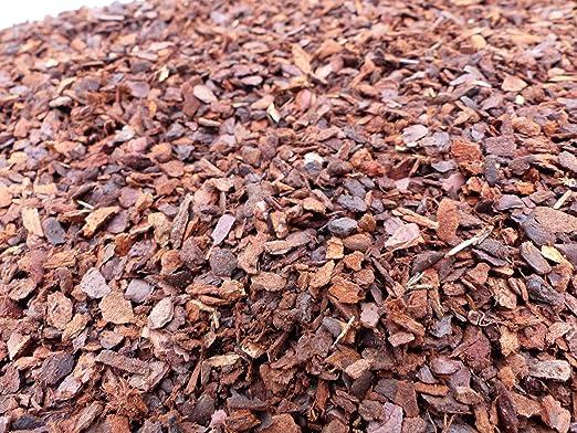 Corteza de pino Pino borke 2 – 8 mm, Mediterráneas corteza en Premuim Calidad, pino, borke, 20L: Amazon.es: Jardín