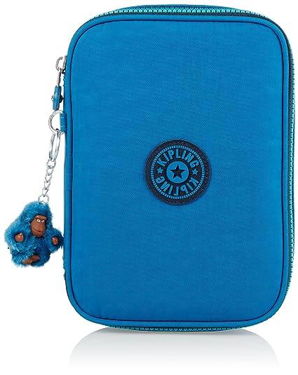 Kipling - 100 PENS - Estuche grande - Blue Green Mix - (Azul ...