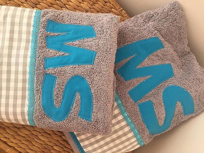 Juego de toallas ducha y lavabo