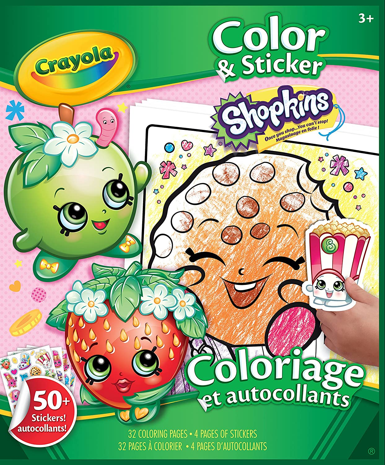 Shopkins giant coloring book - Shopkins Giant Coloring Book