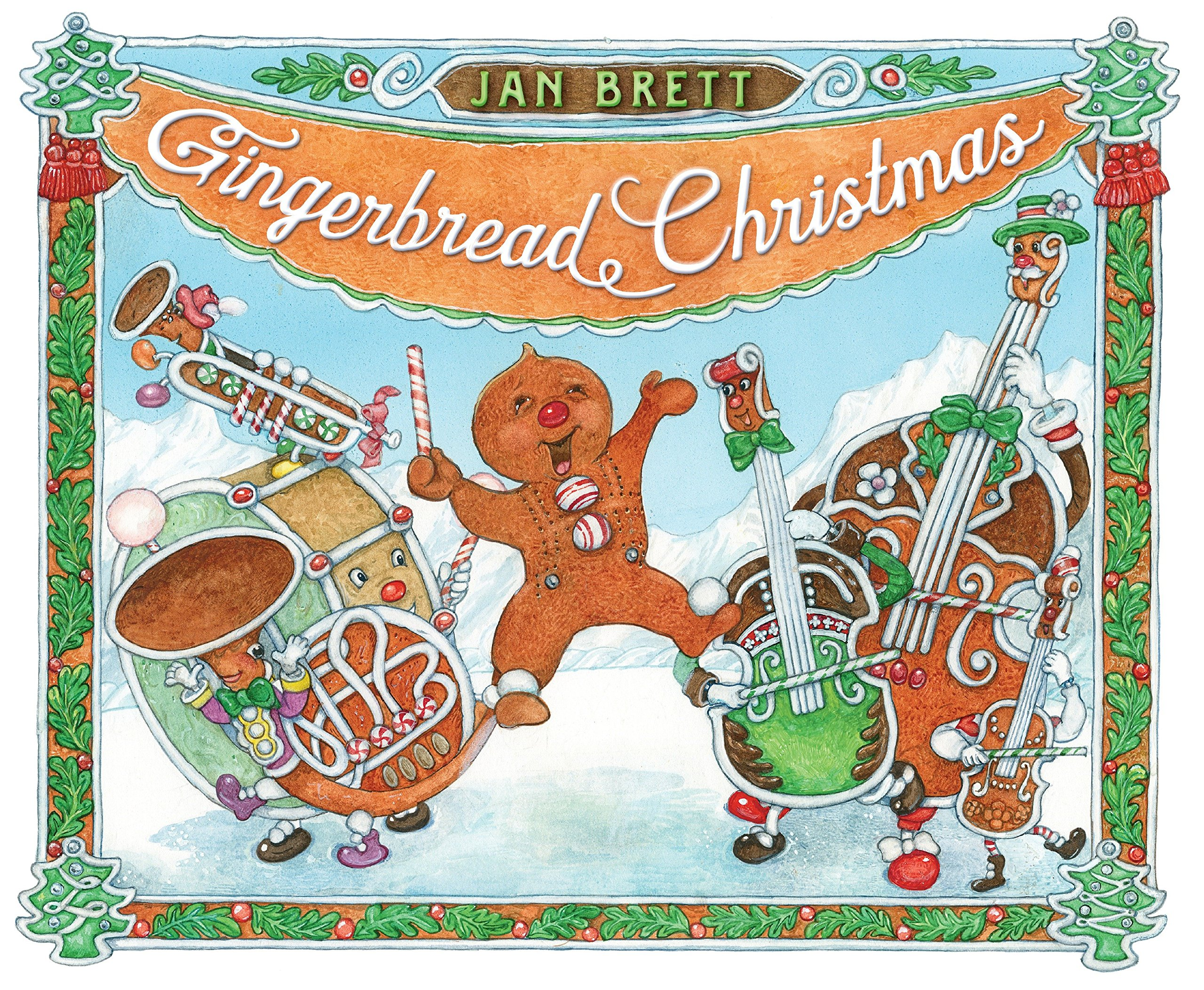 Amazon.com: Gingerbread Christmas (9780399170713): Jan Brett: Books