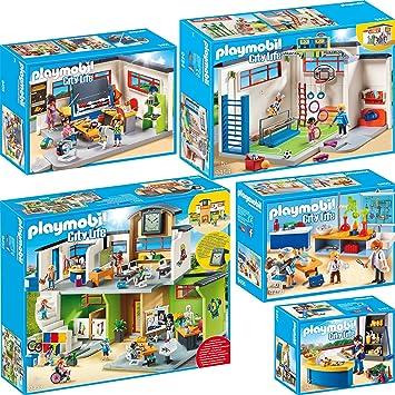 Playmobil City Life Set en 5 Parties 9453 9454 9455 9456