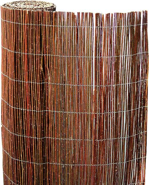 Wolder Brico Cierre Ocultación Mimbre 1x5m, Marron, 100x30x100 cm: Amazon.es: Jardín