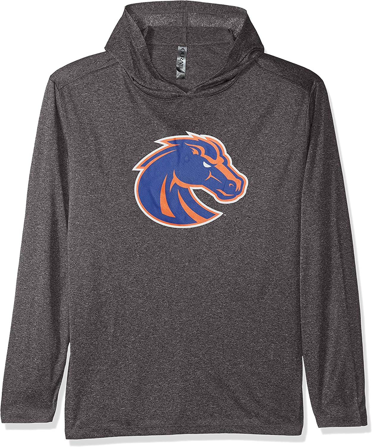 X-Large Athletic Heather Ouray Sportswear NCAA Boise State Broncos Confluence Hood