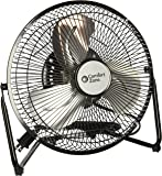 Comfort Zone CZHV9B 9-Inch 3 Speed High Velocity Cradle Fan