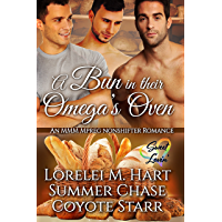 A Bun in their Omega's Oven: A Non-Shifter MMM Mpreg Romance (Sweet Lovin' Book 1) (English Edition)