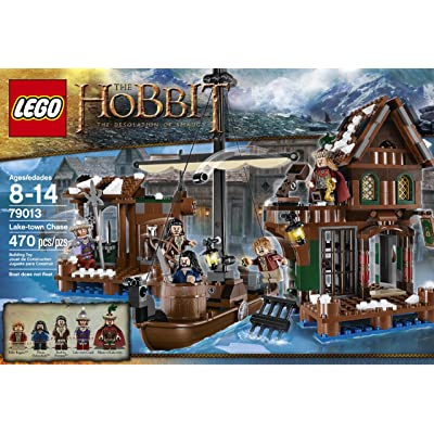 The Hobbit Lake Town Chase 79013: Toys & Games