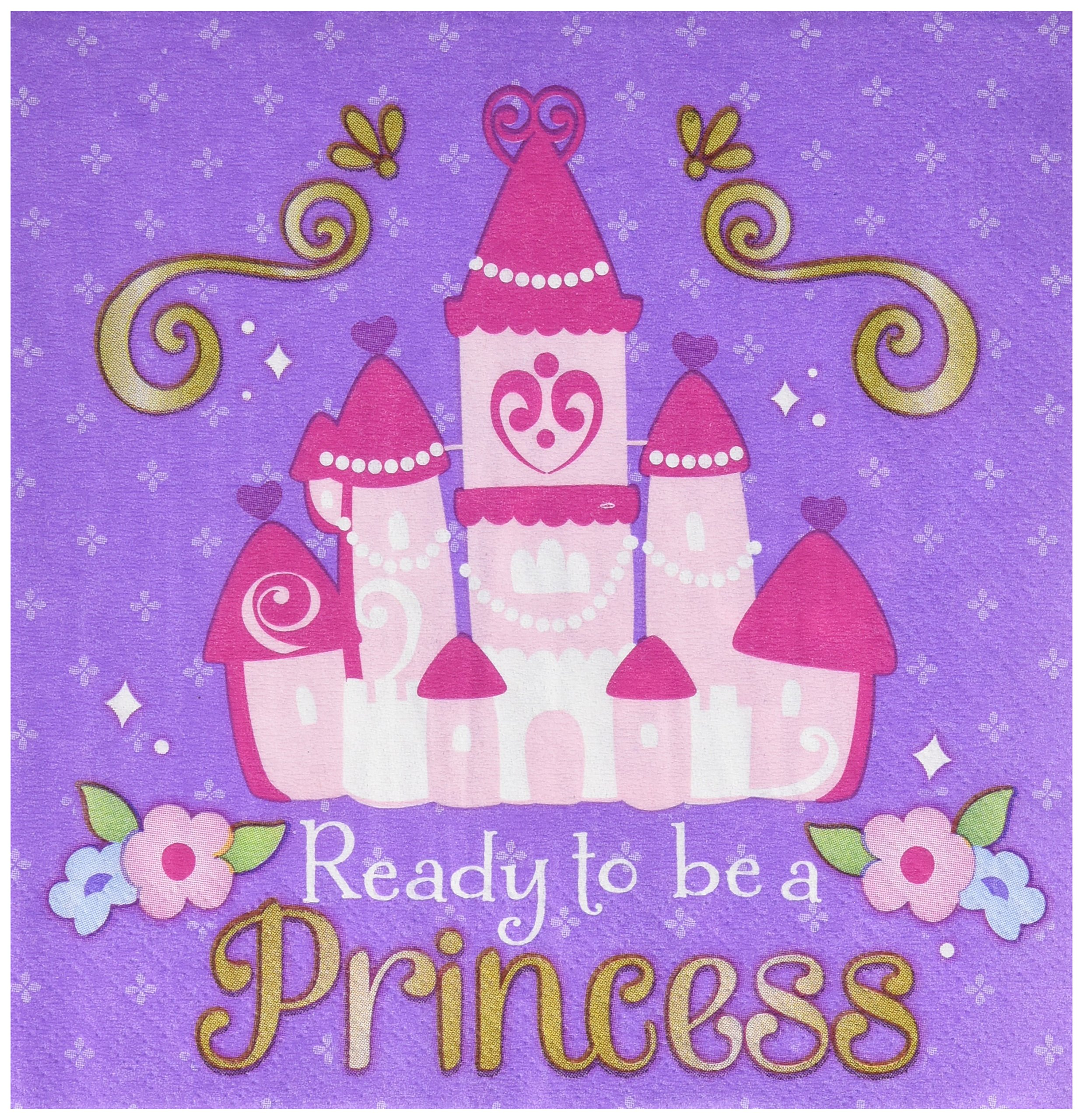 Luncheon Napkin | Disney Sofia The First Collection | Party Accessory | 96 Ct.