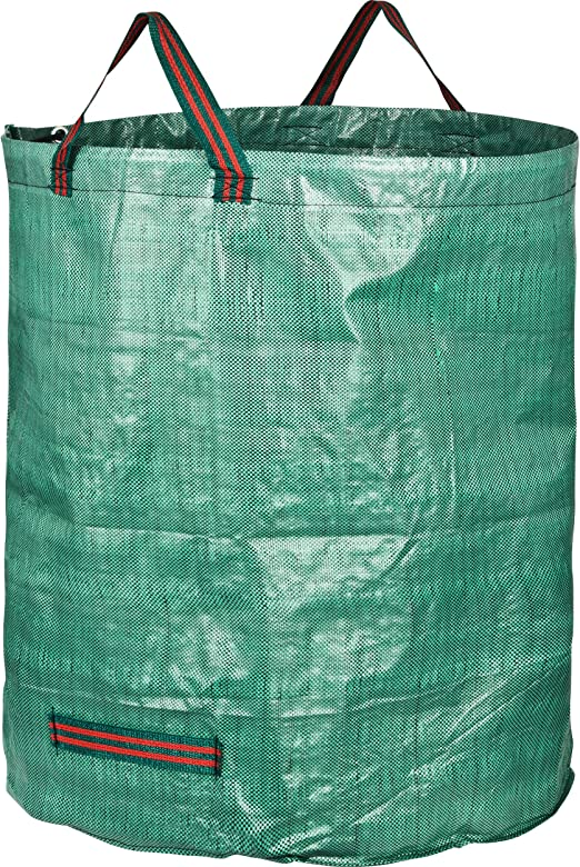 GardenMate 1 Bolsa de Basura de jardín de 272 L | Tejido de Polipropileno (PP) Robusto de 150 g/m2: Amazon.es: Jardín